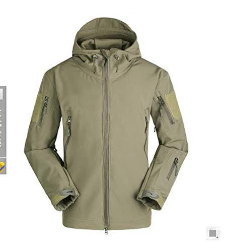 cf26c7986c6 FidgetGear Green S Men Army Camouflage Coat Military Jacket Waterproof  Windbreaker Raincoat Clothes  Amazon.in  Clothing   Accessories