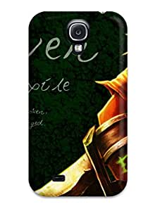 Hot Style PRmMtdN2236vILTa Protective Case Cover For Galaxys4(league Of Legends)