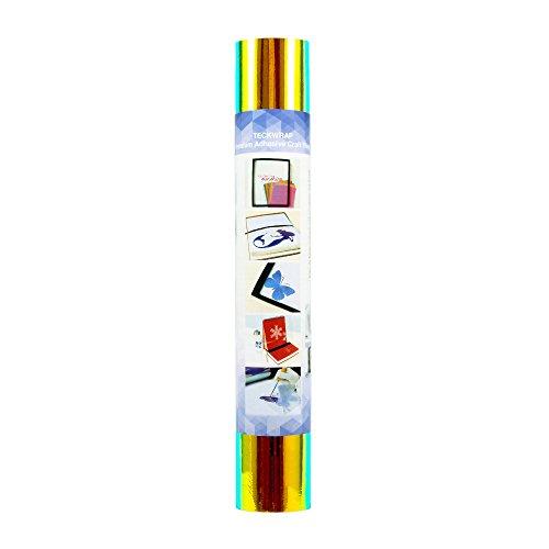Malachite Eagle - TECKWRAP Holographic Opal Chrome Craft Vinyl 1x5ft, Opal Green Malachite