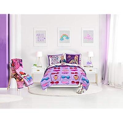 Nickelodeon JoJo Siwa Follow Your Dreams Plush Twin Blanket: Home & Kitchen