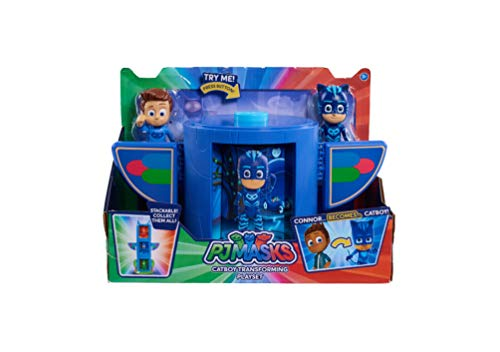PJ Masks PJMASKS JPL24711 Transforming Figure Set- Catboy, Blue]()