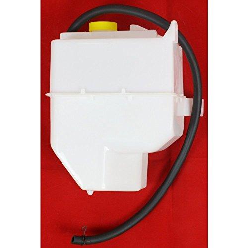 (Evan-Fischer EVA11872030471 New Direct Fit Coolant Reservoir Expansion Tank for Maxima 00-03 I35 02-04 W/Cap and Hose Plastic)