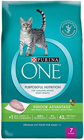 Purina ONE Indoor Advantage Hairball Healthy Weight Management Formula for Cats