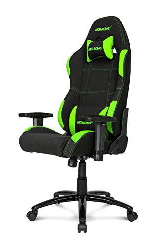 AKRacing K7012 - AK-K7012-BG - Silla Gaming, Color Negro/Verde