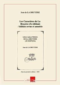 Les Caractères par La Bruyère