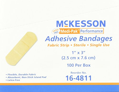 - McKesson Performance Bandage Adhesive Fabric Strip, 100 Count