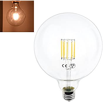LightStory Globe LED Light Bulb, E26 Base G30 Starry 3W 2200K ...