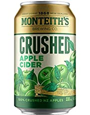 Monteith's Crushed Apple Cider Cans 330mL Case of 30