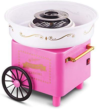 AIMCAE Máquina de algodón de azúcar para niños Mini hogar ...