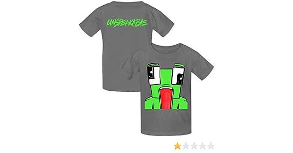 VOPSKJ14 Unspeakable Youth Cotton T-Shirts Unisex Child Short Sleeve Tee Shirt