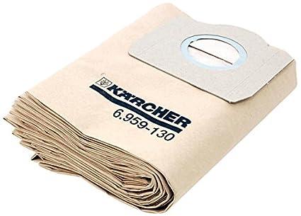 Karcher – Bolsas de Filtro para a2231, A2251, a2254, a2534, a2554 5 Unidades