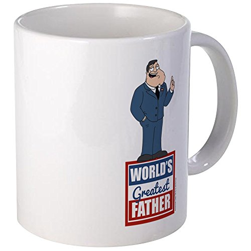 Price comparison product image CafePress - American Dad World's Greatest Father - Unique Coffee Mug,  Coffee Cup