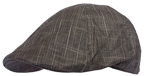4228d5d2c DRY77 Gatsby Ivy Hat Flat Cotton Newsboy Duckbill Cap Men - Import It All