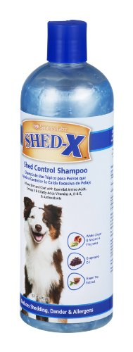 SynergyLabs Shed-X Shed Control Shampoo for Dogs