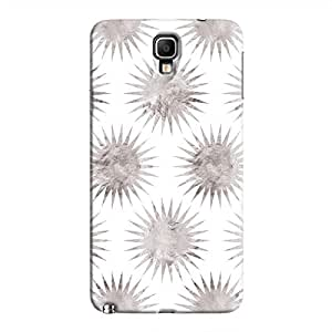 Cover It Up - Silver White Star Galaxy Note 3 Neo Hard Case