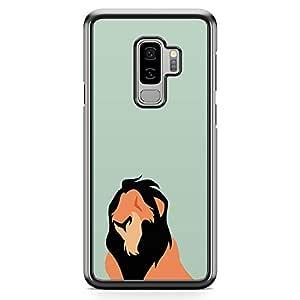Loud Universe Mufasah Lion King Samsung S9 Plus Case Classic Lion King Samsung S9 Plus Cover with Transparent Edges