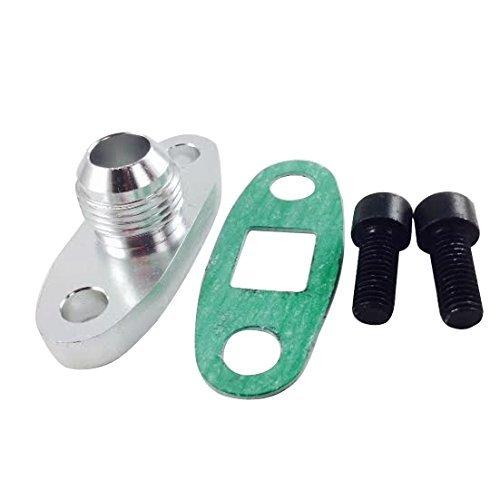 MotoMavens 10an Turbo Oil Drain Flange For Oil Cooled Turbonetics / Garrett / Precision / Borgwarner Turbochargers