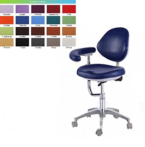 Amazon.com Aphrodite Dental Stool Assistant Stool Dental Assistant Chair with Armrest Micro Fiber Leather Height Adjustable by Purple-Violet Industrial u0026 ...  sc 1 st  Amazon.com & Amazon.com: Aphrodite Dental Stool Assistant Stool Dental Assistant ...
