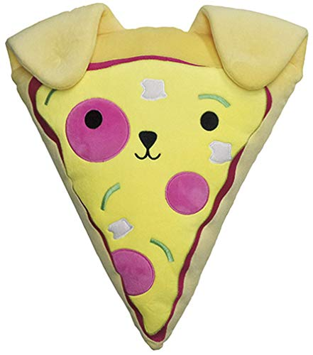 Bubble Gum Solid Sheet - iscream Bubble Gum Scented Pupperoni Pizza Slice Embroidered 10