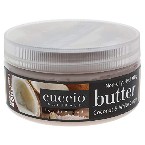 Cuccio Butter Blend, Coconut/White Ginger, 8 Ounce