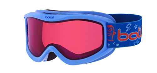 Bolle AMP Kids Snow Snowmobile Goggles Blue Monster / ()
