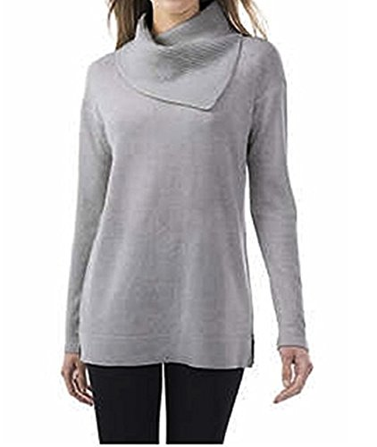 Wholesale Womens Cashmere Sweater (Celeste Ladies' Wool Cashmere Sweater (Variety Size and Colors) (Large, Gray))