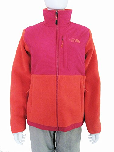 (The North Face Women Denali Jacket, Recycled Rambutan Pink/Cerise Pink, Small )