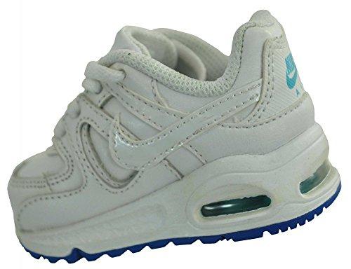 Nike Air Max Command LTR TD bebé Bebés Zapatos zapatilla de deporte blanco