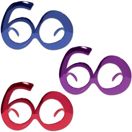(Beistle 60th Birthday Metallic)
