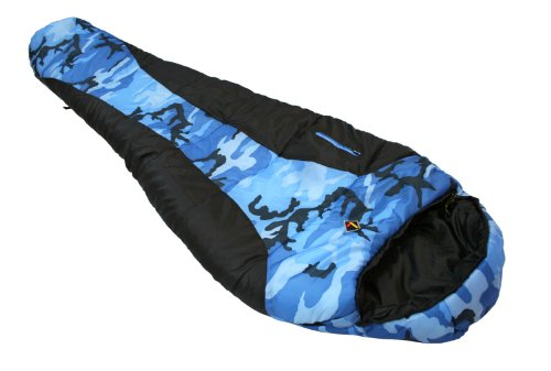 Ledge Sports Youth River Jr +0 F Degree Mummy Sleeping Bag (72 X 26 X 17, Blue) Review