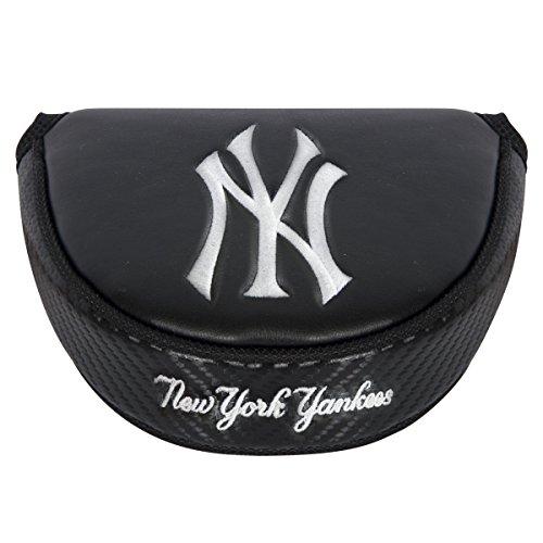 Team Effort MLB New York Yankees Black Mallet Putter Coverblack Mallet Putter Cover, NA ()