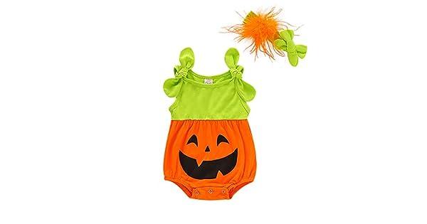 Amazon.com: Shan-S Halloween Newborn Infant Baby Boys Girls ...