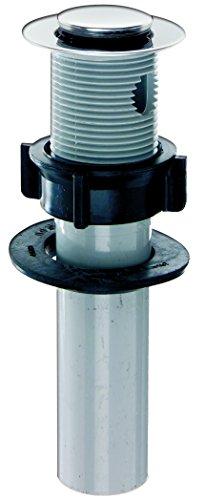 Plumb Pak PP55-1 1-Piece Po Plug Drain with Lift 'N Lok Top, 5 X 1-1/4 in, Plastic, Stainless Steel Rim, 5