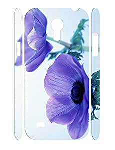 Charming Personalized Flower Print Dust Protection Phone Case for Samsung Galaxy S4 Mini I9195