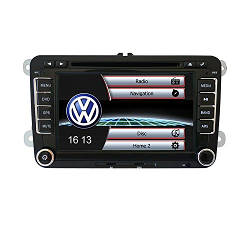 Ouku 7 Inch 2Din Car DVD Player for Volkswagen with GPS,C...