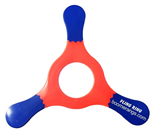 Red Fling Ring Boomerang - Easy Returning Boomerangs! ()
