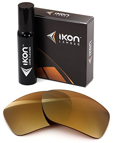 Polarized Ikon Iridium Replacement Lenses For Von Zipper Clutch Sunglasses - 24K Gold - Are Good Sunglasses Zipper Von