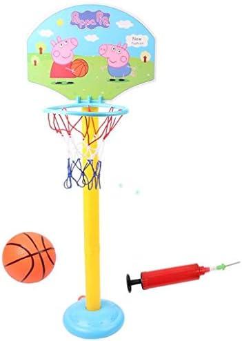 子豚の子供は、屋内と屋外のスポーツバスケットボールの赤ちゃんフィットネスのおもちゃを撮影ウォールハンギングフレームボールを撮影ラック
