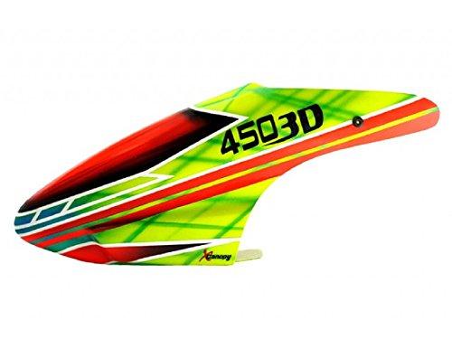 XCANOPY Airbrush Fiberglass Jungle Canopy – Blade 450X/3D