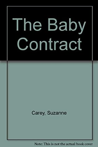 book cover of The Baby Contract