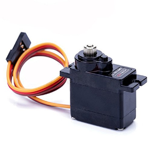 GoTeck 2PCS GS-9018MG 9g Micro Servo torque 1.8 kg/ 0.09sec Analog for RC Model