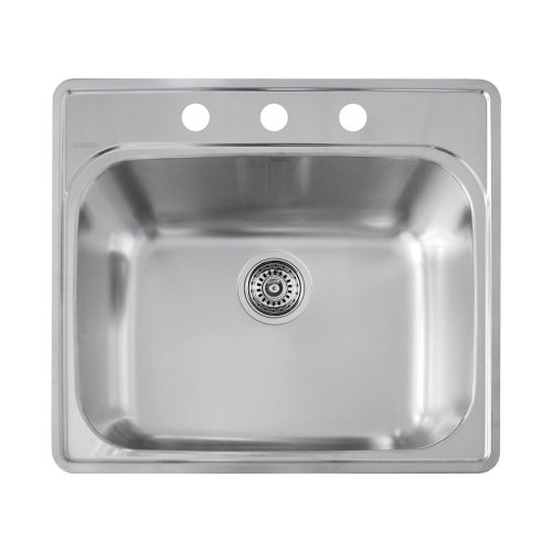 Sink Essential Laundry (Blanco 441400 3 Hole Essential Laundry Sink)