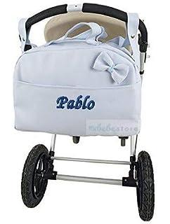 Bolso Carrito Bebe Polipiel Personalizado con nombre bordado ...