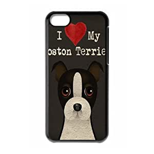 Cell phone Iphone 5C Protection Cover Hard Case Of Dog