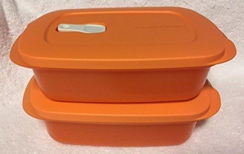 tupperware-crystalwave-rectangle-microwave-2-pc-set-4cup-1l-orange