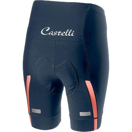 Castelli Velocissima Short - Women's Dark Steel Blue/Salmon, XS by Castelli (Image #2)