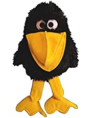 Erich Bohl 6393228cm Raven marioneta de Mano