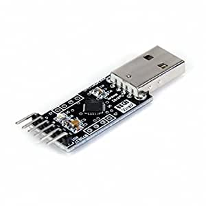 Movimiento y movimiento (TM) 1 x USB A TTL Converter Module With Built-in CP2102