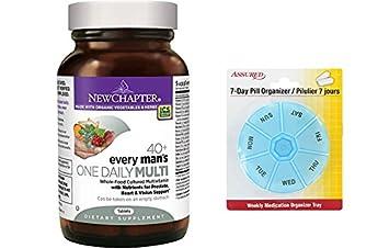 Nuevo capítulo un diario 40 de cada hombre, multivitamínico hombres fermentado con probióticos enana B