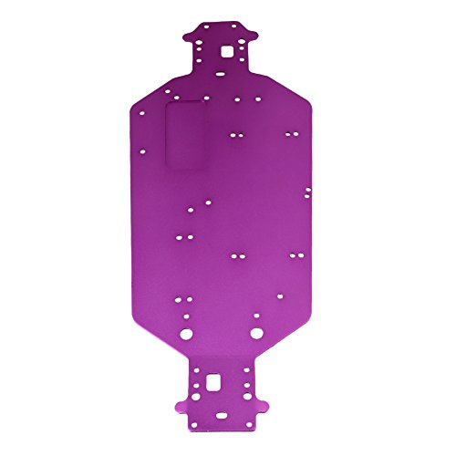 BQLZR Purple Aluminum Upgrade Parts for HSP RC1:10 Off Road Car Chassis 04001